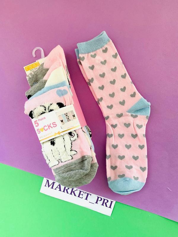 Детские носочки примарк  в наличии, носки для девочек хит продаж