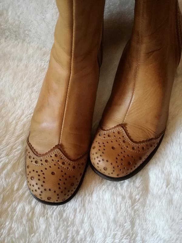 Ботинки полусапожки натуральная кожа р.39(26см)