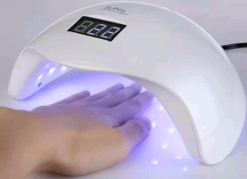 Светодиодная УФ лампа Sun-5 LED для маникюра 48W