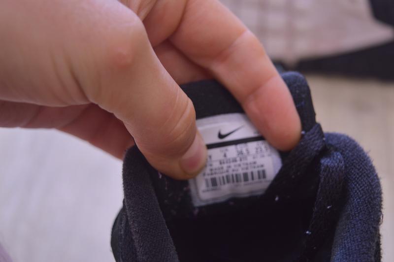 Nike air max черные женские кроссовки кожа оригинал осень весн... - Фото 6