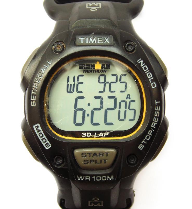 Timex ironman triathlon мужские часы из сша indiglo wr100m лип...