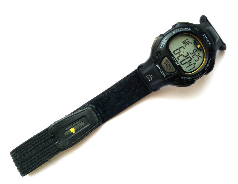 Timex ironman triathlon мужские часы из сша indiglo wr100m лип... - Фото 2