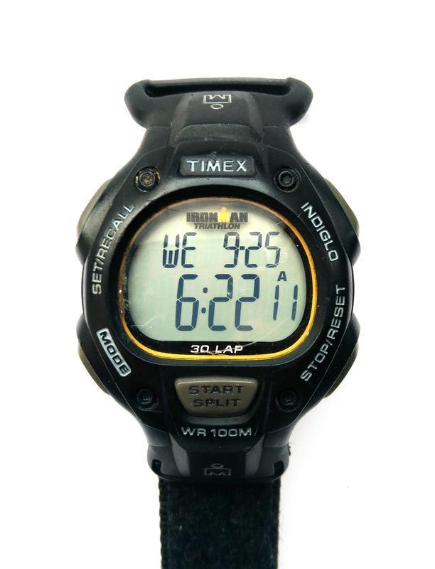 Timex ironman triathlon мужские часы из сша indiglo wr100m лип... - Фото 3
