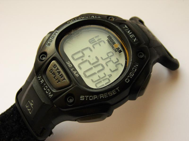 Timex ironman triathlon мужские часы из сша indiglo wr100m лип... - Фото 4