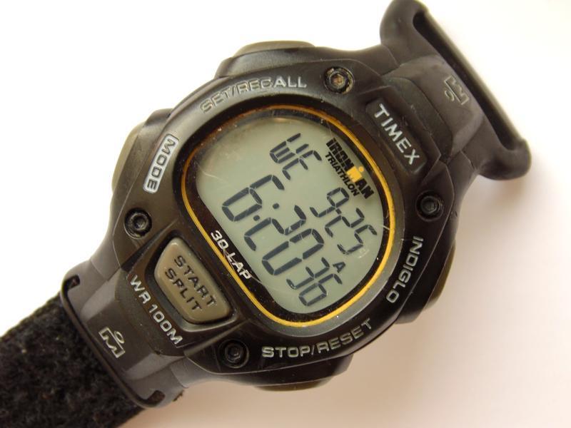 Timex ironman triathlon мужские часы из сша indiglo wr100m лип... - Фото 5
