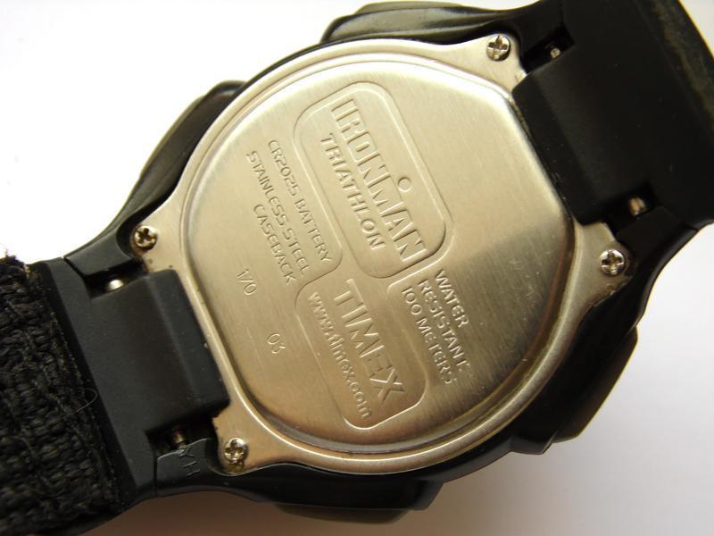 Timex ironman triathlon мужские часы из сша indiglo wr100m лип... - Фото 9