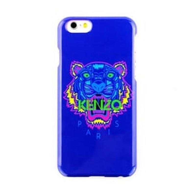 Силиконовый чехол Kenzo Paris Синий для IPhone 6 Plus/6s Plus