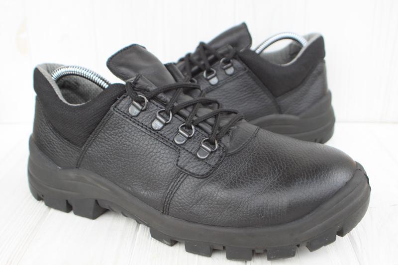 Рабочие ботинки prabos кожа чехия 42р с металлическим носком