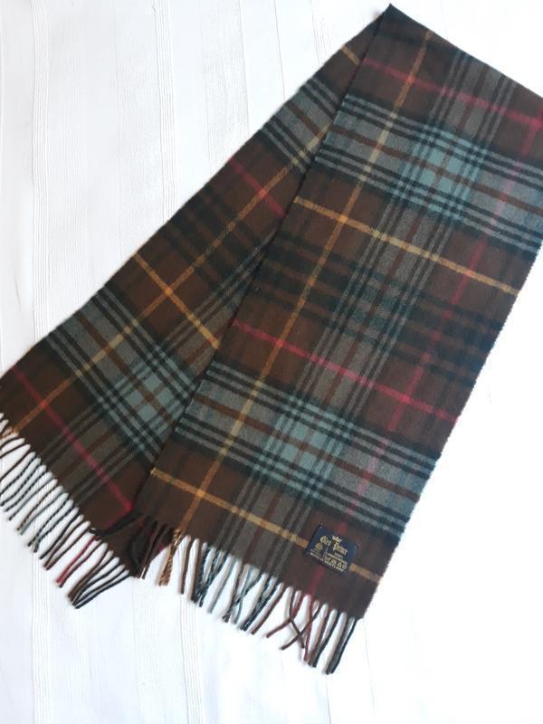 Glen prince шотландия новый#брендовый#шерстяной#теплый шарф#ша...