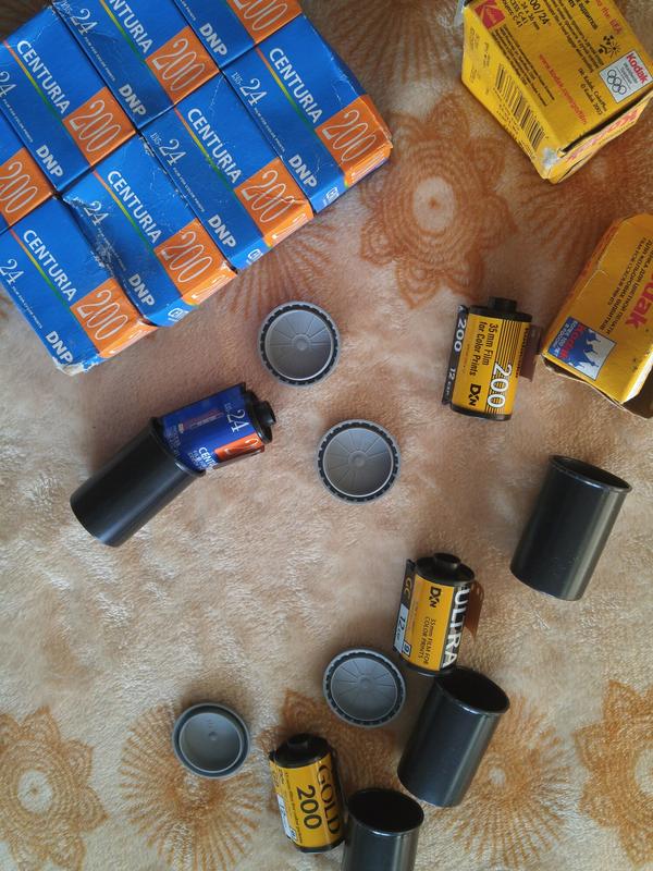Фотоплёнка плёнка фотоапаратов DNP kodak made in usa