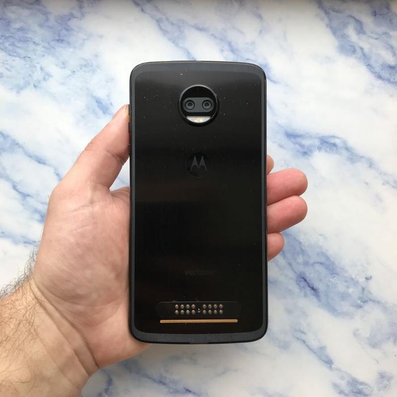 Motorola Moto Z2 Force Black 64 Gb xt1789-01 (#1818) - Фото 4