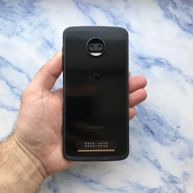 Motorola Moto Z2 Force Black 64 Gb xt1789-01 (#1822) - Фото 4