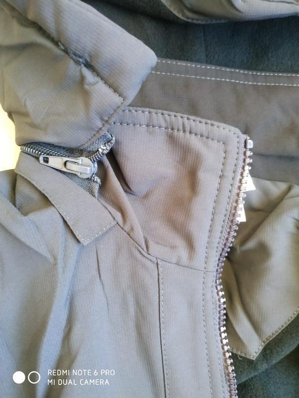 Утепленная мужская куртка adidas - Фото 4