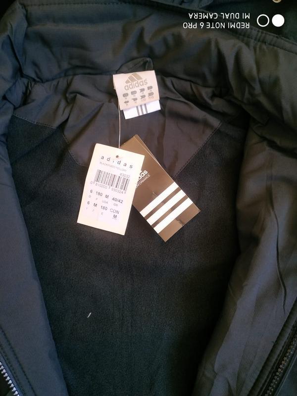 Утепленная мужская куртка adidas - Фото 6