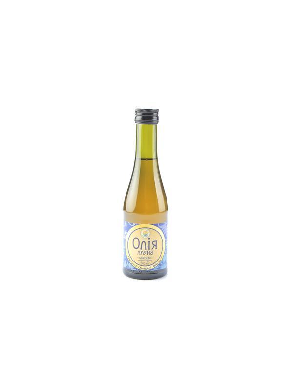 Олія лляна (першого холодного віджиму) 200 мл