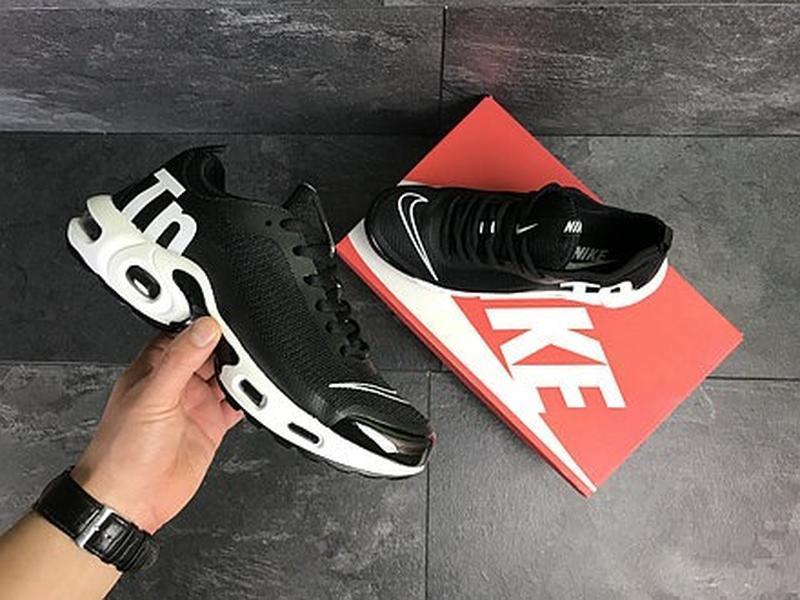 Мужские чёрные кроссовки - Фото 2