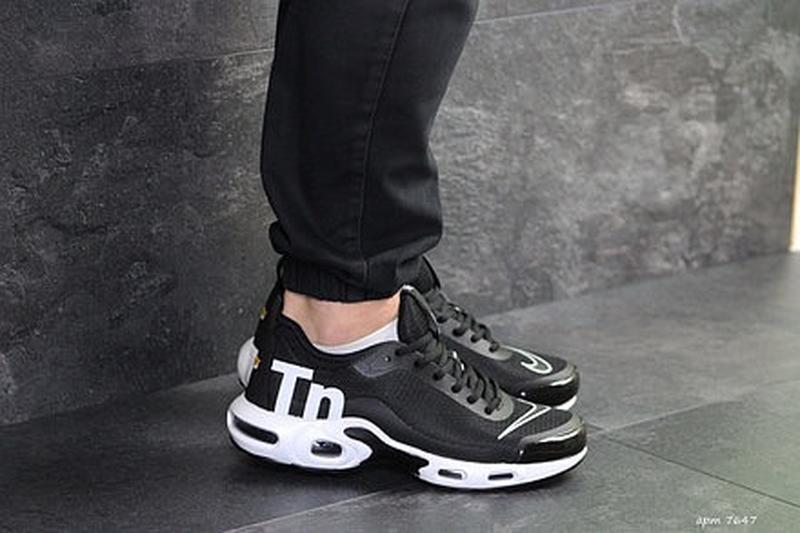 Мужские чёрные кроссовки - Фото 4