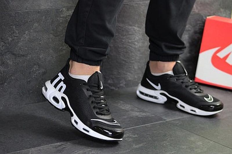 Мужские чёрные кроссовки - Фото 5