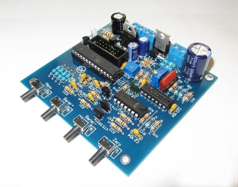 Готовая плата металлоискателя  Pi-AVR