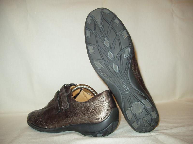 Туфли-кроссовки ** gabor ** словакия. кожа. р.38. - Фото 4