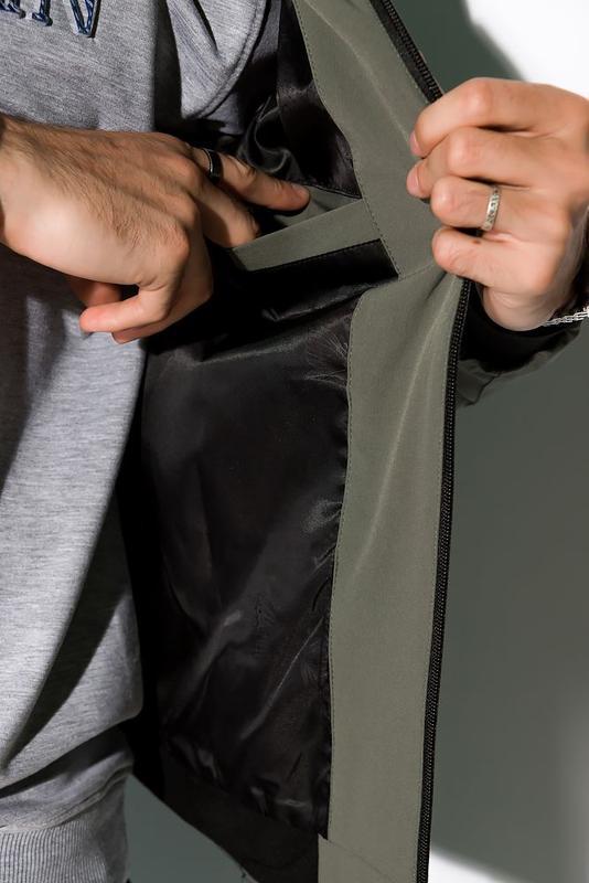 Мужская куртка деми - Фото 5