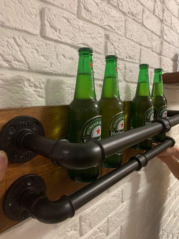 Настенная лофт полка - Фото 7