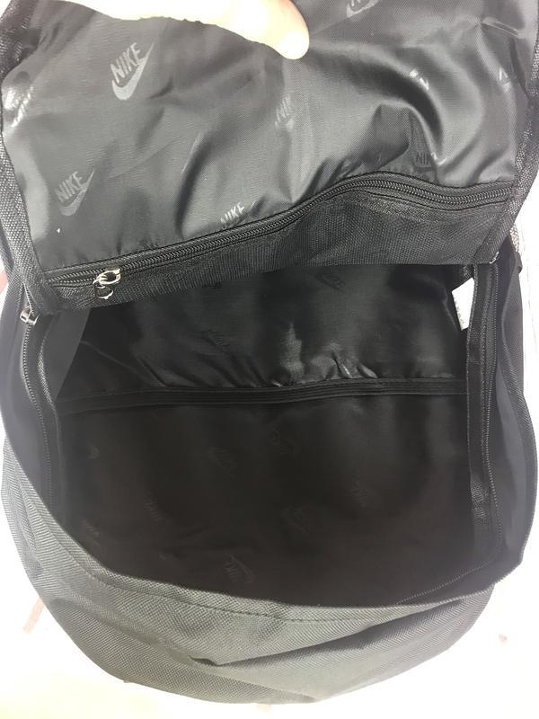 Мужской рюкзак NIKE. Городской спортивный рюкзак Рк39 - Фото 4