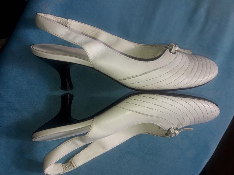 Туфли летние ecco кожаные, 38 размер - Фото 4