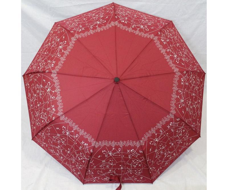 Зонт полуавтомат женский (антиветер)!