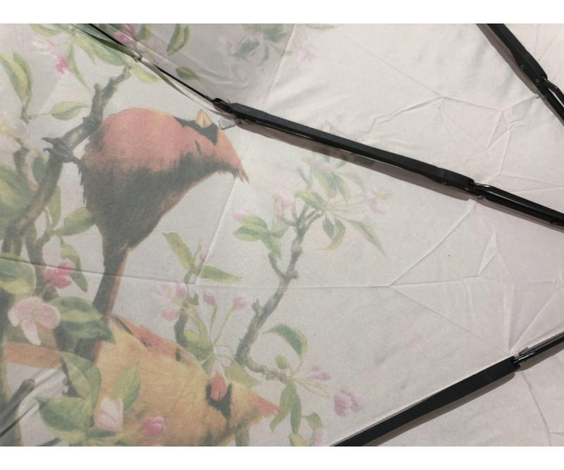 Зонт полуавтомат женский (антиветер)! эпонж - Фото 2