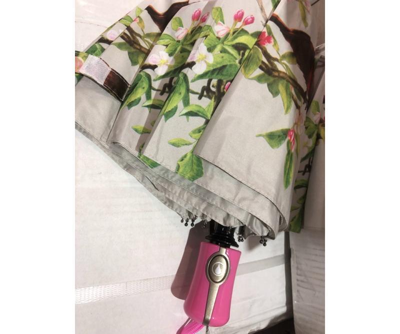 Зонт полуавтомат женский (антиветер)! эпонж - Фото 3