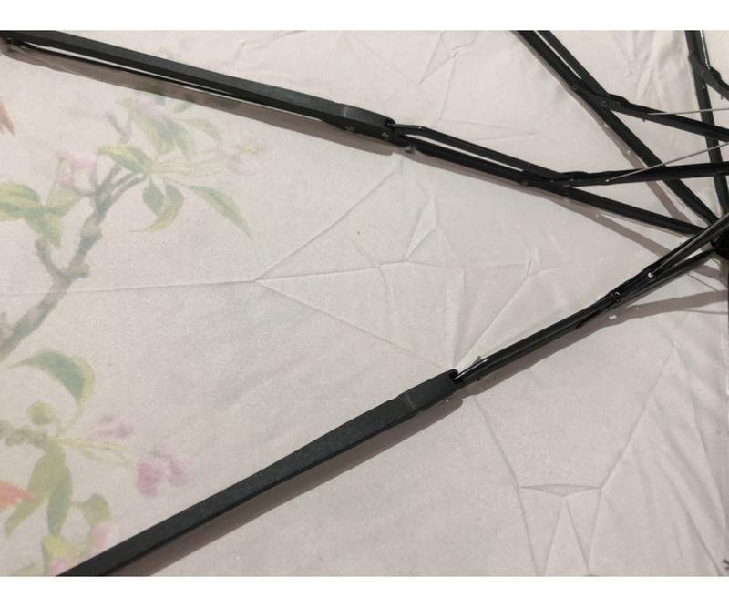 Зонт полуавтомат женский (антиветер)! эпонж - Фото 6