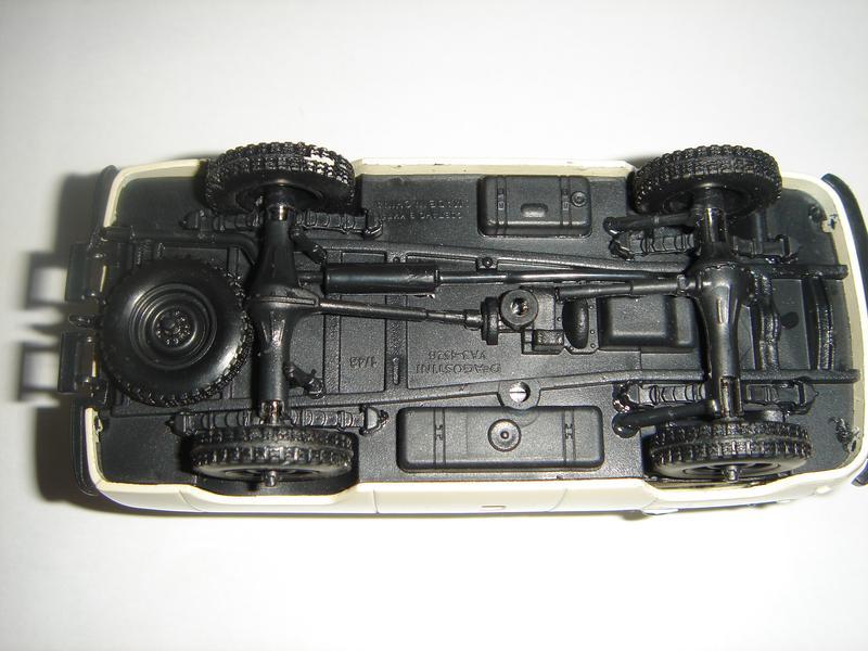 Машинка металлическая УАЗ 465В. 1:43 - Фото 5