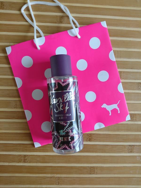Vanilla sky mist парфюмированный спрей для тела мист pink vict...