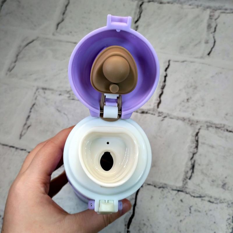 Термос термокружка super термочашка,сиреневый, 500 мл - Фото 2
