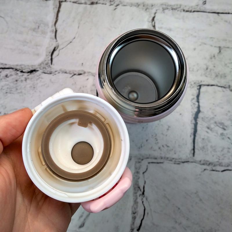 Термос термокружка енот термочашка, розовый, 500 мл - Фото 3