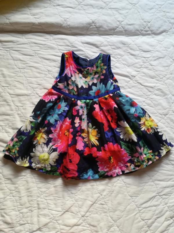 Нарядное платье marks&spencer 3-6 мес /плаття m&s