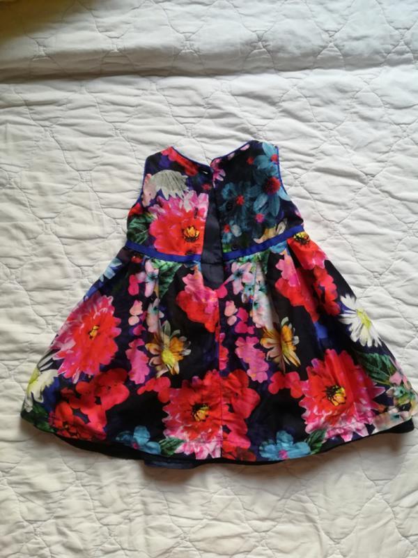 Нарядное платье marks&spencer 3-6 мес /плаття m&s - Фото 2