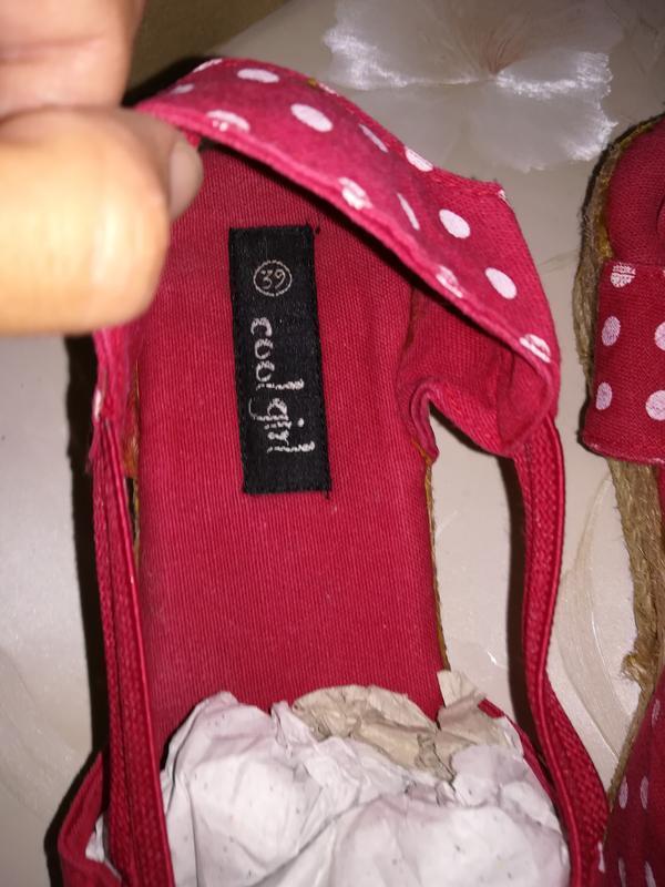 Распродажа акция 1+1=3 текстильные босоножки - Фото 5