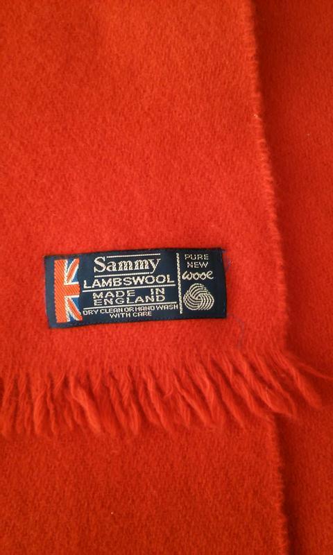 Английский шерстяной шарф