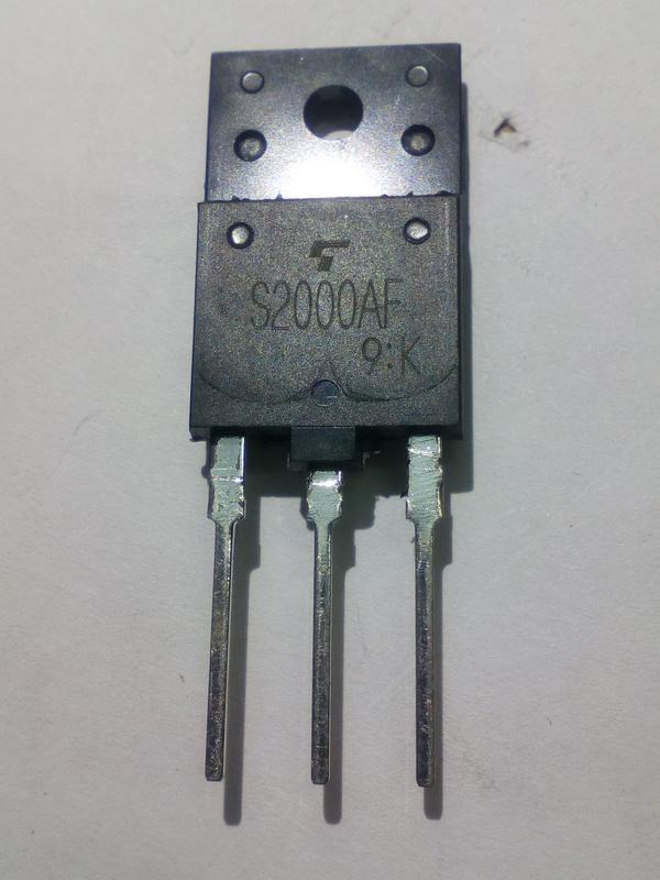 Транзистор S2000AF TO-247