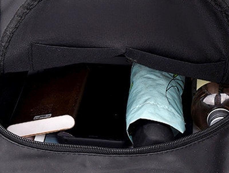 Городская стильная сумка. женский рюкзак черный. женский портфель - Фото 4