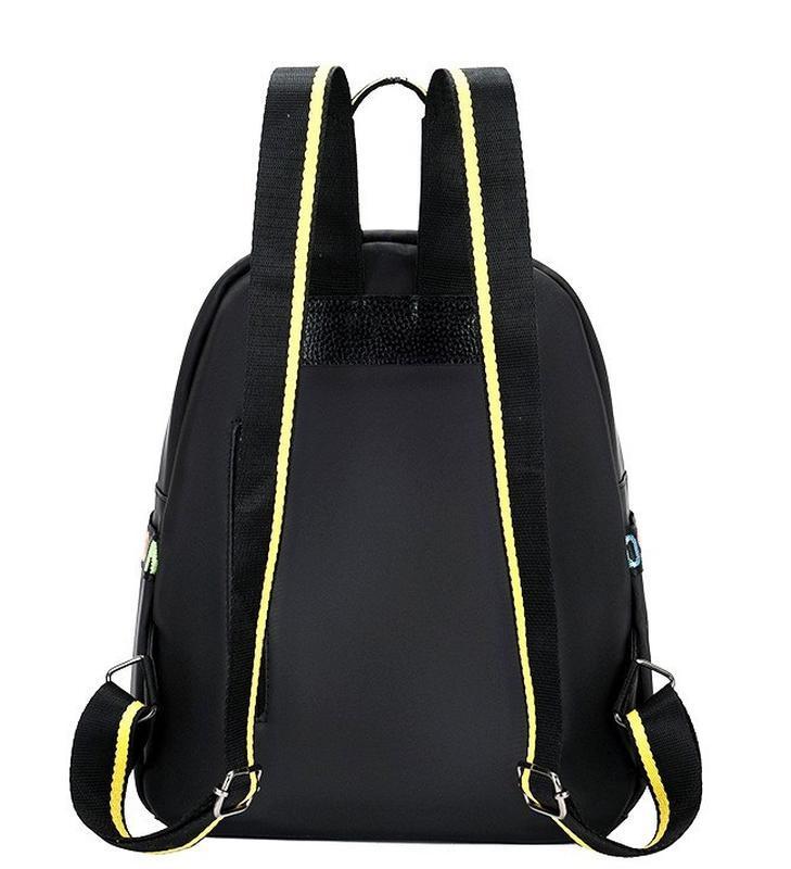Городская стильная сумка. женский рюкзак черный. женский портфель - Фото 6