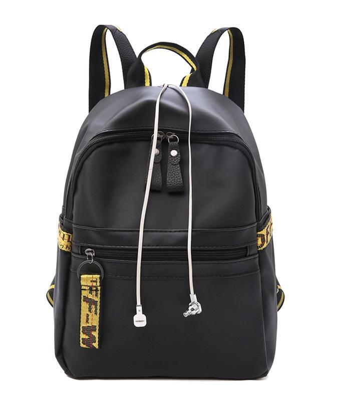 Городская стильная сумка. женский рюкзак черный. женский портфель - Фото 9