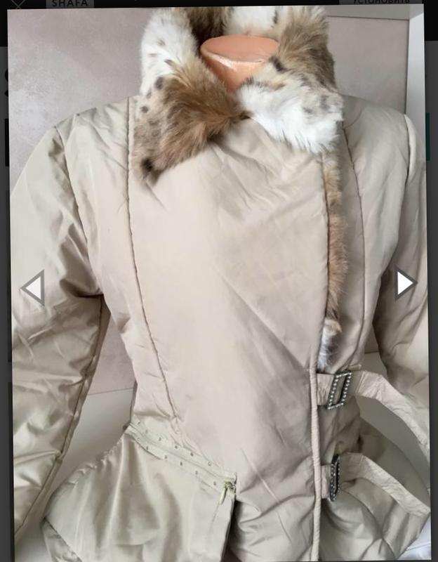 Красивая демисезонная куртка на синтепоне