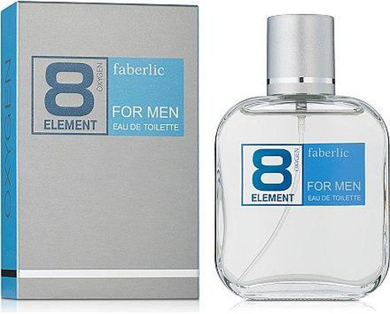 Туалетная вода 8 element oт Faberlic