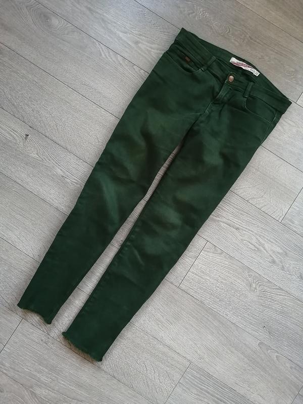 Зелені джинси zara зеленые джинсы зара джинсовые штаны джинсов...