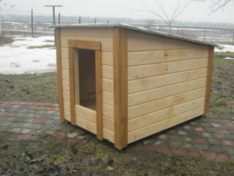 Красивая будка для овчарки   Большой собаки - Фото 3