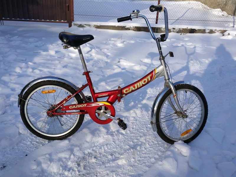 Велосипед салют / вело / велик