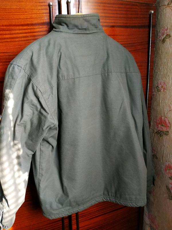 Куртка чоловіча розмір 50.Захисного кольору. - Фото 2